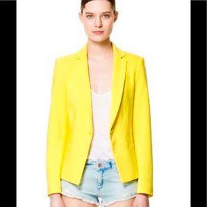 Yellow Zara Blazer size M